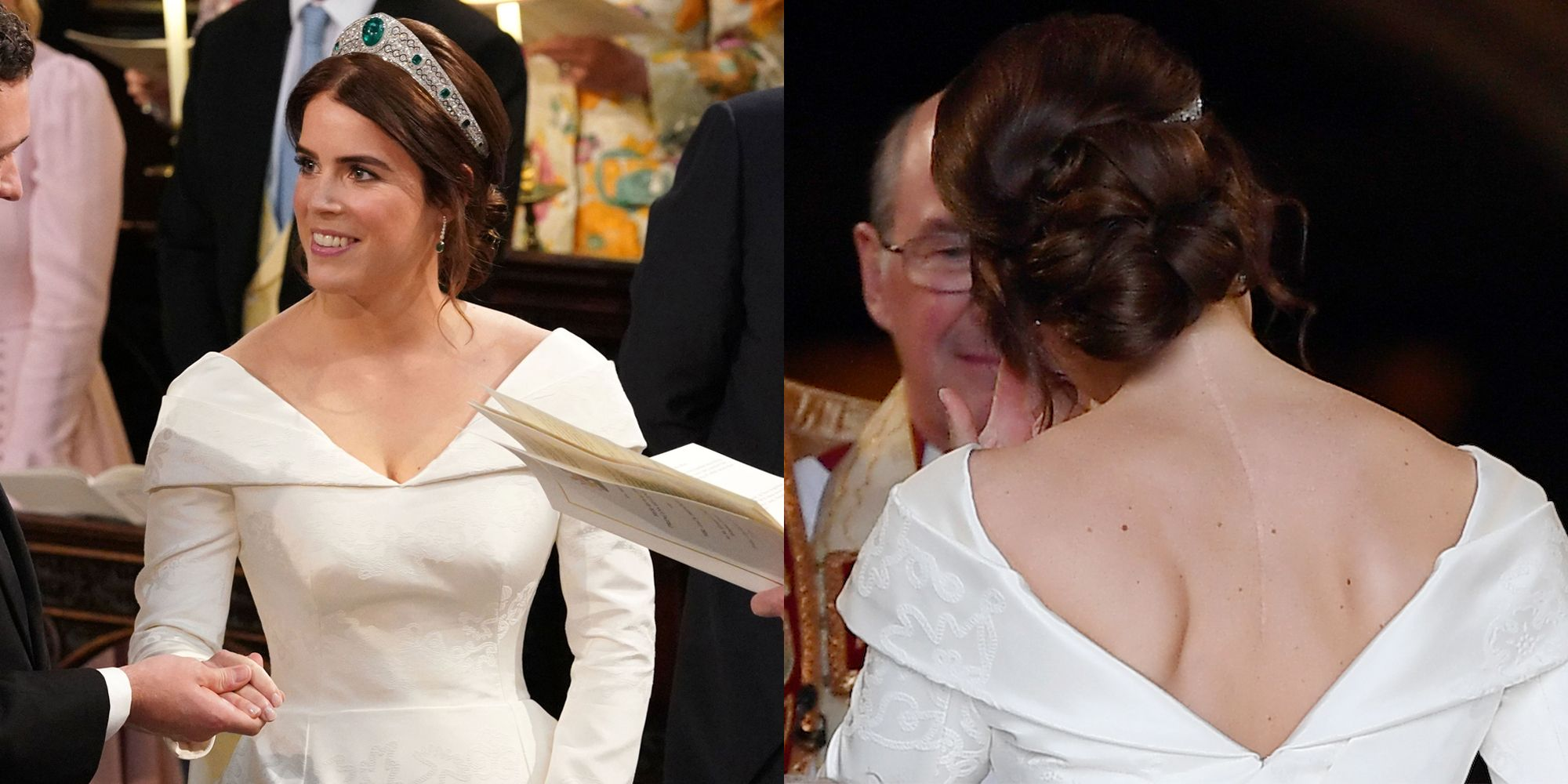 Princess Eugenie S Wedding Dress Shows Her Scars From Scoliosis