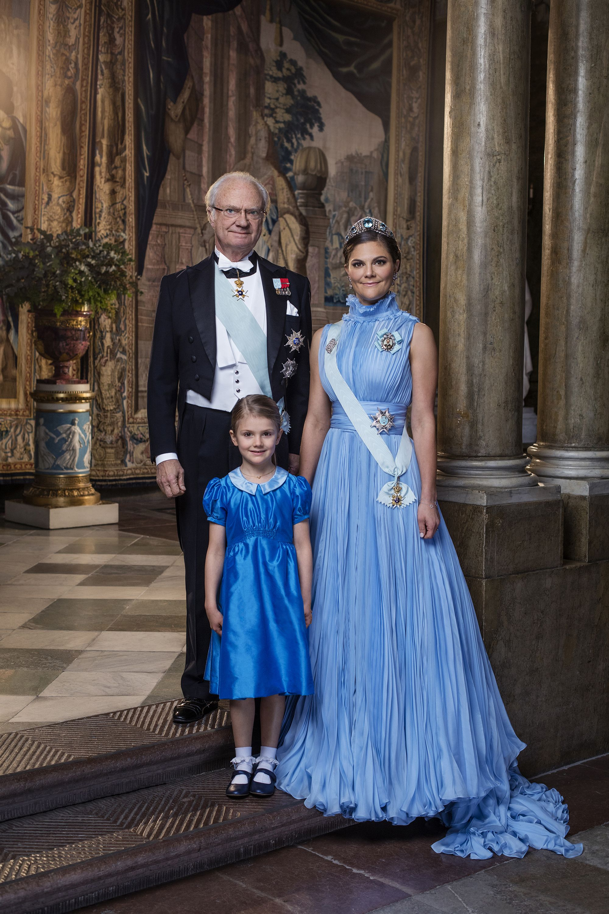 Sweden S Princess Victoria And Princess Estelle Royal
