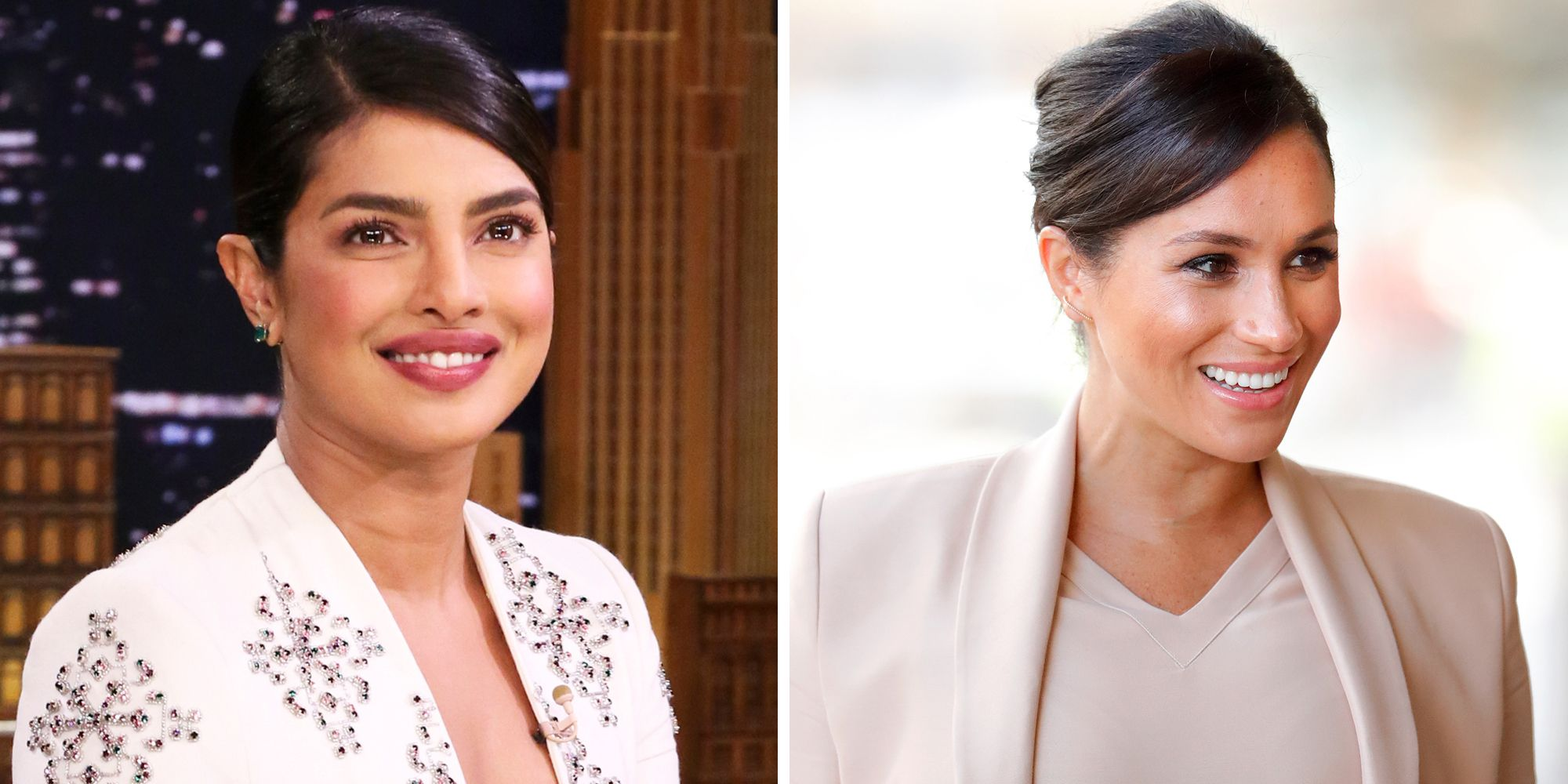 How Priyanka Chopra Responded to Meghan Markle Fighting Rumors