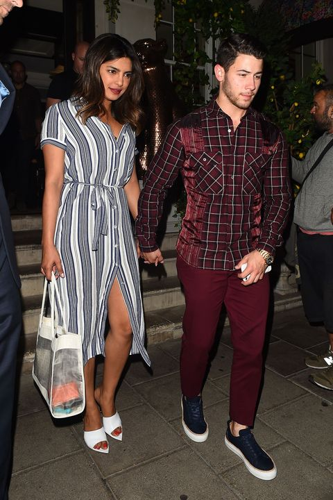 265073fd847 Nick Jonas and Priyanka Chopra Spent a Night Out in London with ...