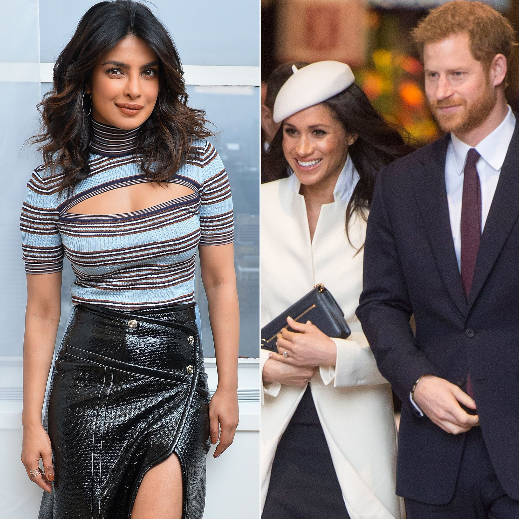 Flipboard: Priyanka Chopra Gives Meghan Markle's Royal