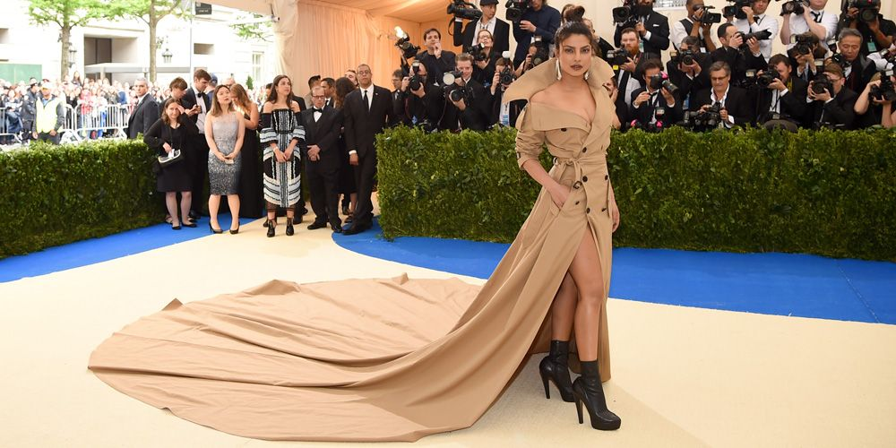 Priyanka Chopra Wins For Most Dramatic Train Of The Met Gala