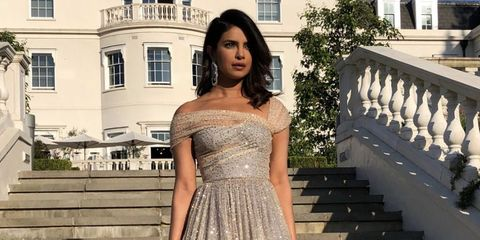 d56a90f68bc2 The Best Dressed Guests at Prince Harry and Meghan Markle s Evening ...