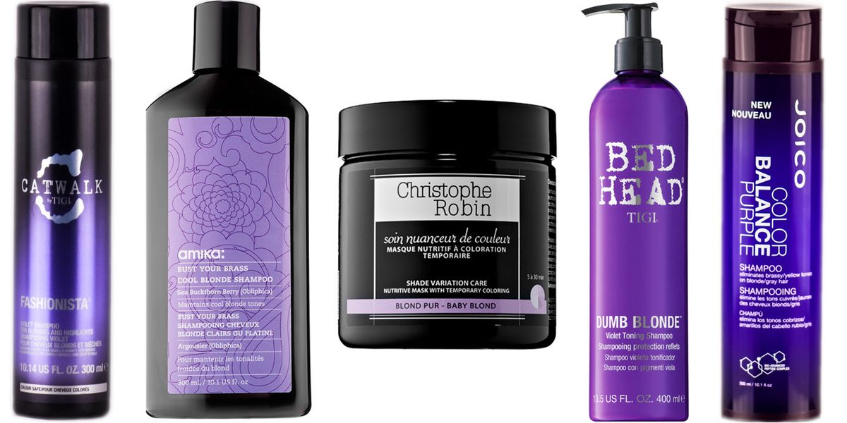 15 Purple Shampoos To Brighten Your Blonde