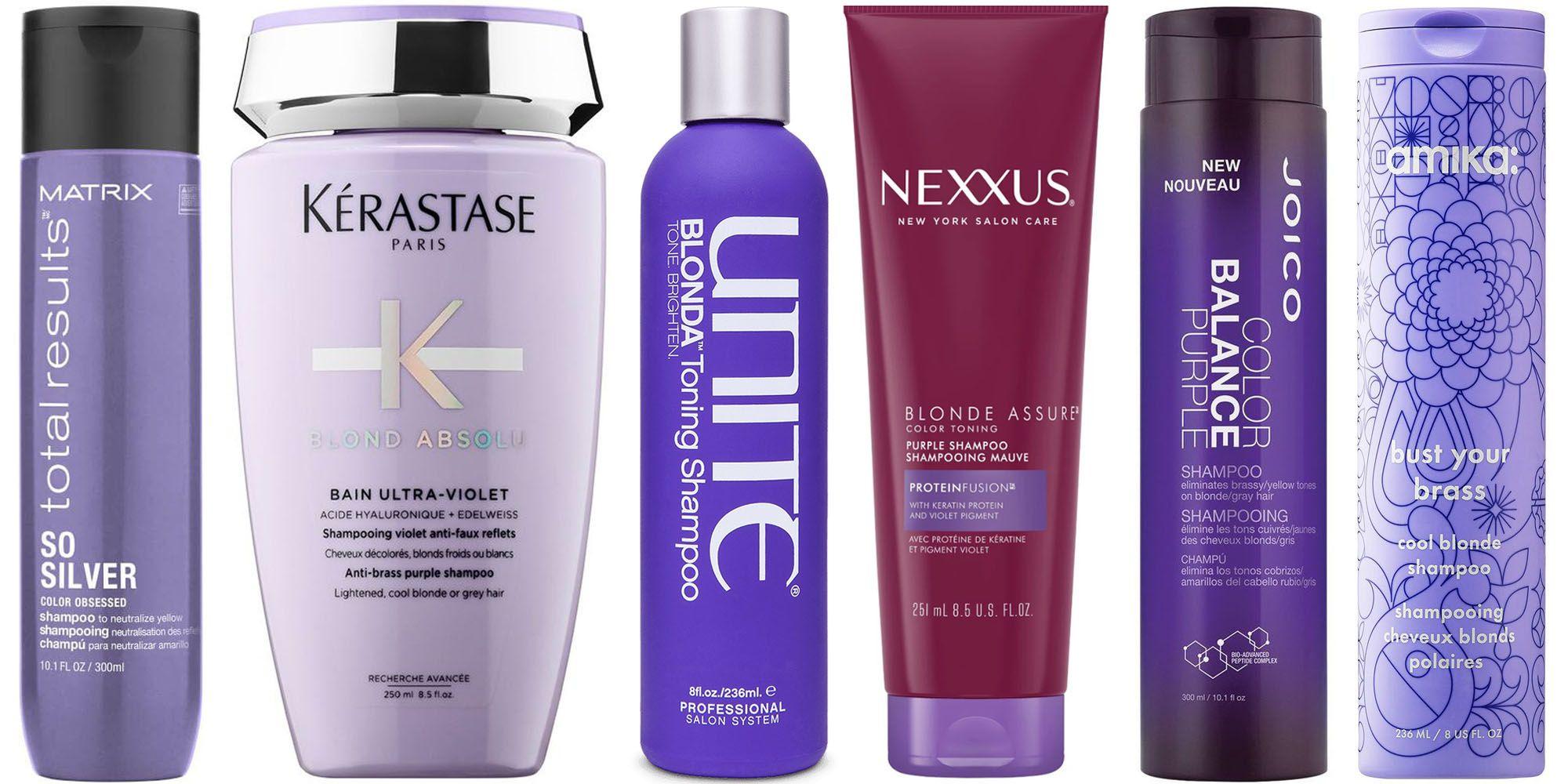 Purple Shampoos To Brighten Blonde Hair