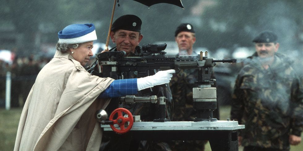 These Photos Prove Queen Elizabeth Is a Total Badass