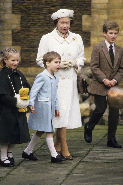9482b677f035 33 Best Queen Elizabeth With Her Grandchildren Photos of All Time