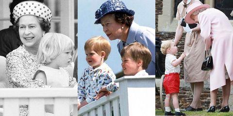 0aedc319faca 33 Adorable Moments Between Queen Elizabeth and Her Grandchildren