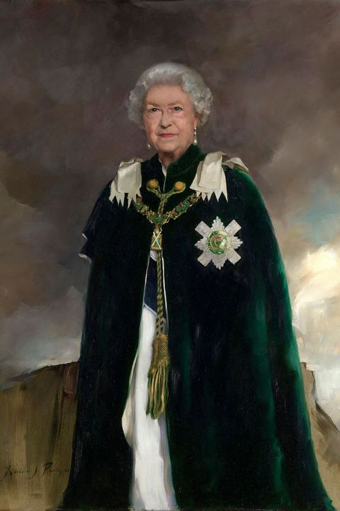 queen elizabeth ii reveals regal new portrait in scotland queen elizabeth ii reveals regal new