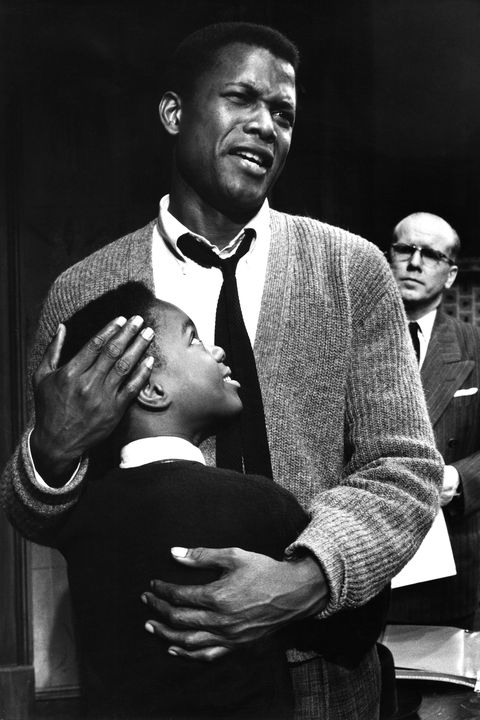 actor sidney poitier in scene from play a raisin in the sun  photo by gordon parksthe life picture collection via getty images
