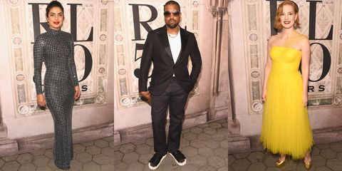 2dd4fa66 Oprah, Kanye West, Hillary Clinton, and More Celebs Attended Ralph ...