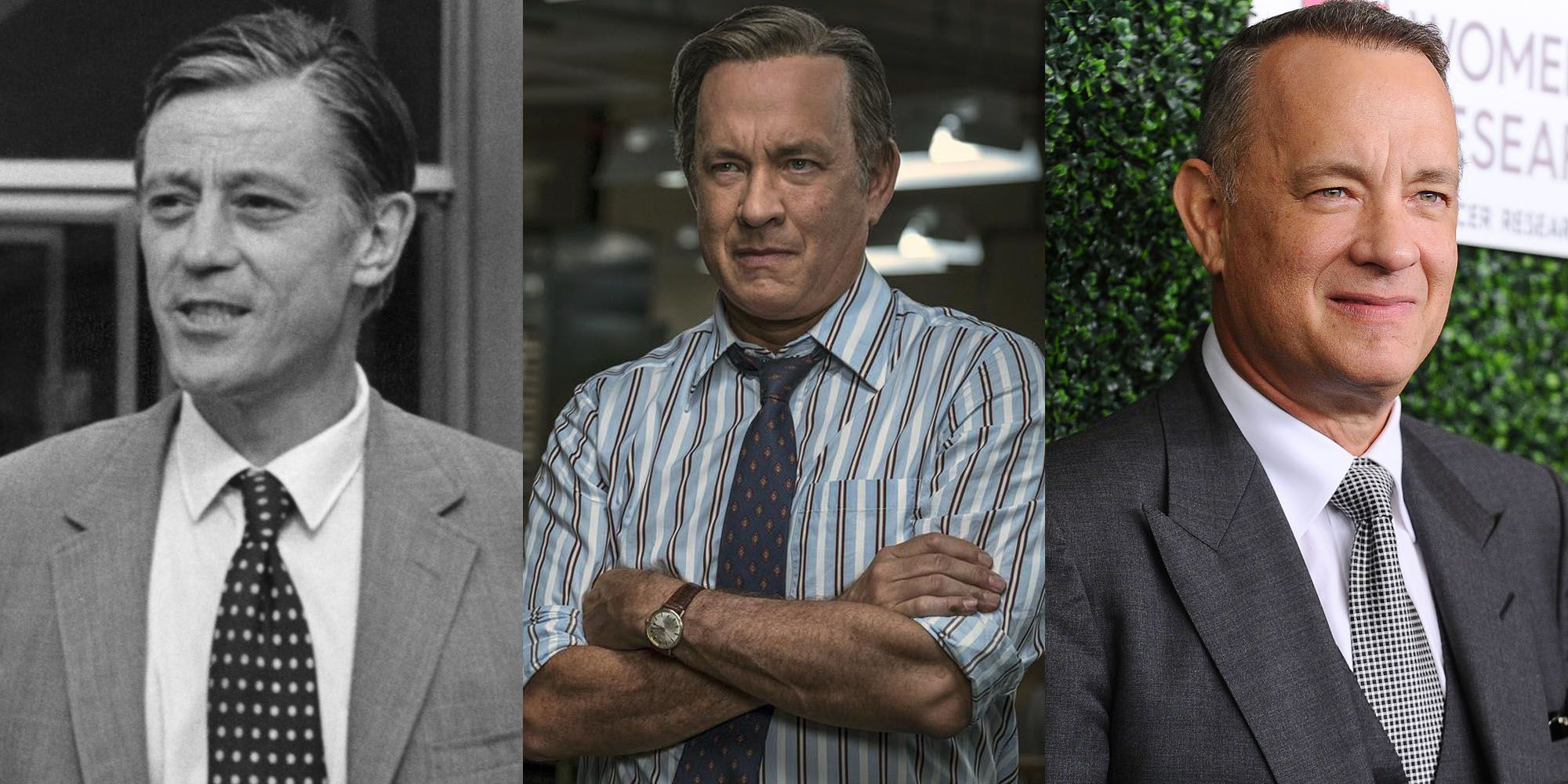 What movie stars and others are depicted in these photos