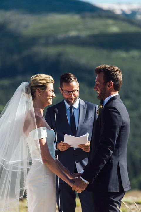 Erin Andrews Wedding.Erin Andrews And Jarret Stoll S Wedding In The Mountains Erin