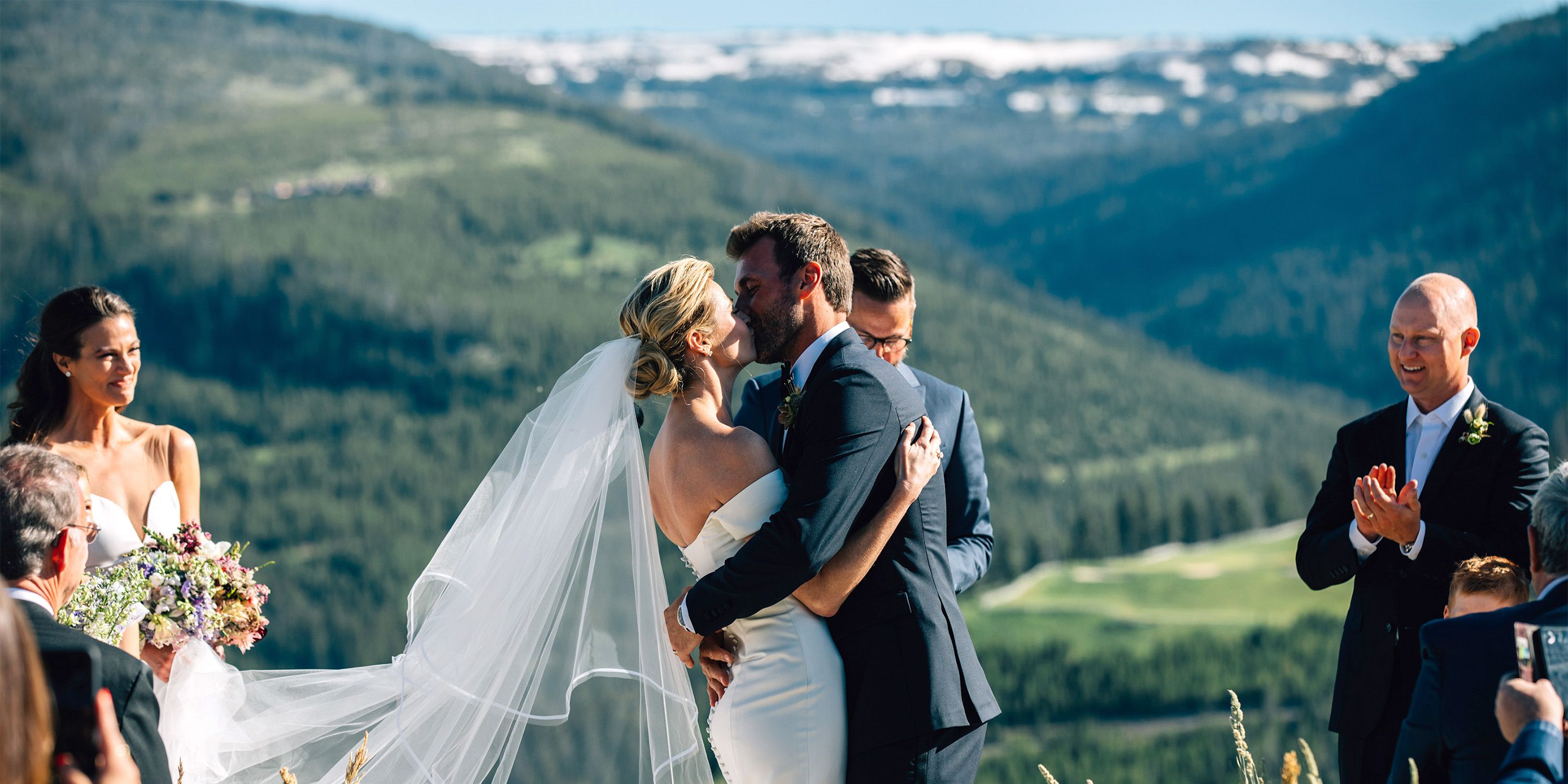 Erin Andrews and Jarret Stoll\'s Wedding in the Mountains - Erin ...