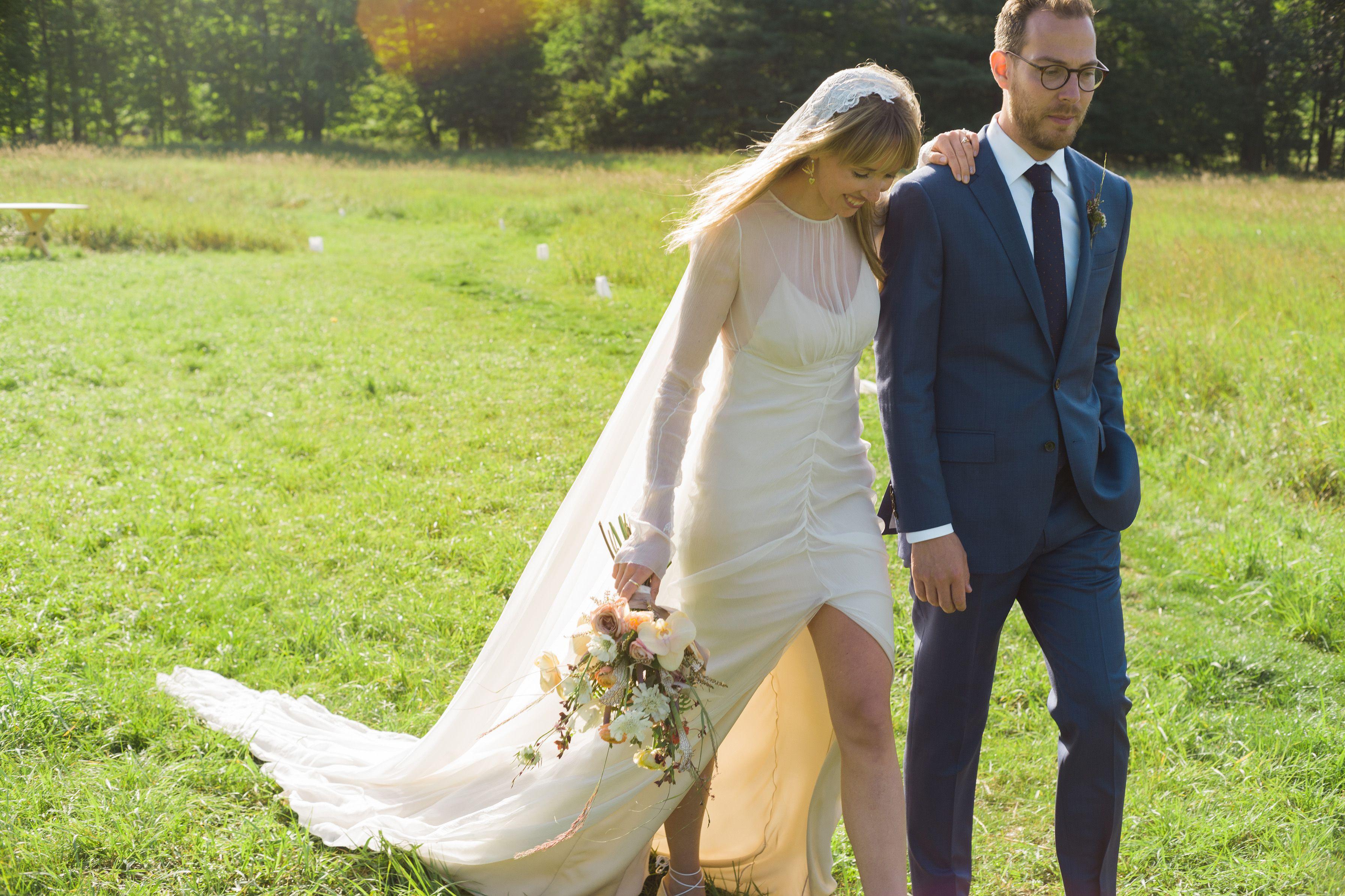 Olivia Fleming and Matt Rubin Wedding - The Ultimate Barn Wedding
