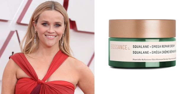 reese witherspoon biossance squalane omega repair cream