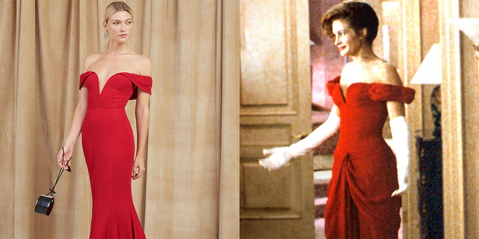 The Red Pretty Woman Dress Can Now Be Yours For 388