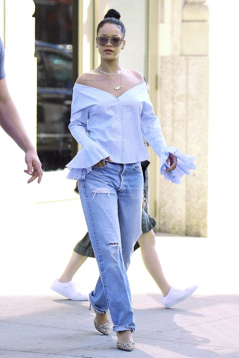 d5495e59021dbd How to Wear Boyfriend Jeans - How Editors Wear Boyfriend Denim