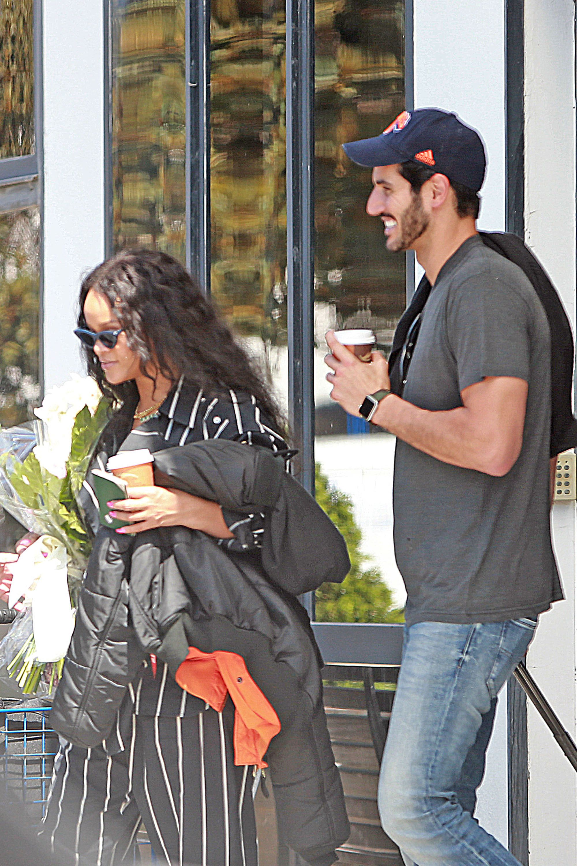 Rihanna and Her New Man Hassan Jameel Have a Date in Ibiza