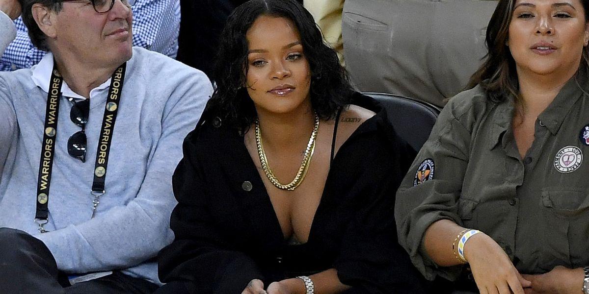Rihanna Kevin Durant NBA Finals Game - Harper's BAZAAR