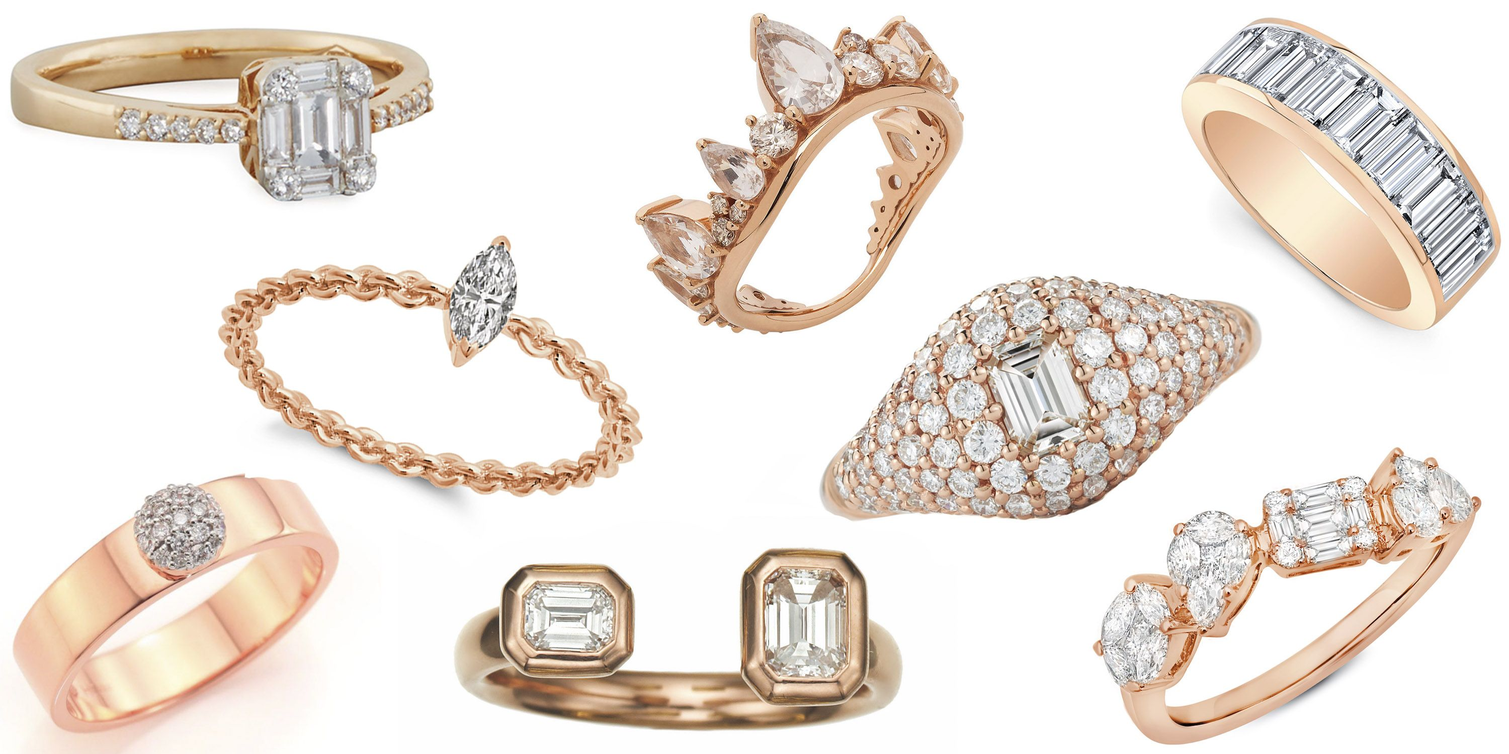 45 Best Rose Gold Engagement Rings Stunning Rose Gold Engagement