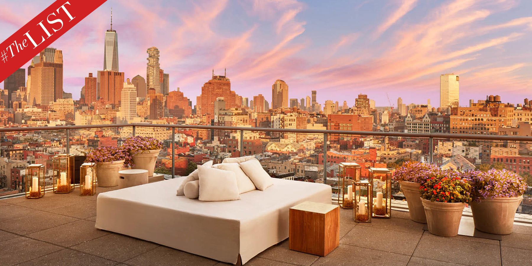 #TheLIST: 21 of the Best Rooftop Bars in NYC