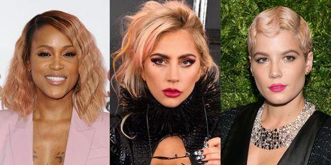 842b96fb09b Best Rose Gold Hair Colors - Best Celebrity Rose Gold Hair Colors