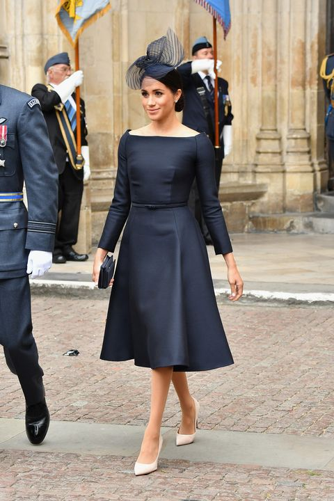 Meghan Markle Dior Little Black Dress - Meghan Markle Wears Black ... 9b86ff3a6