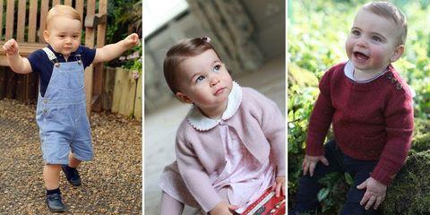 ルイ王子の1歳ポートレートが公開。ジョージ王子&シャーロット王女と比較