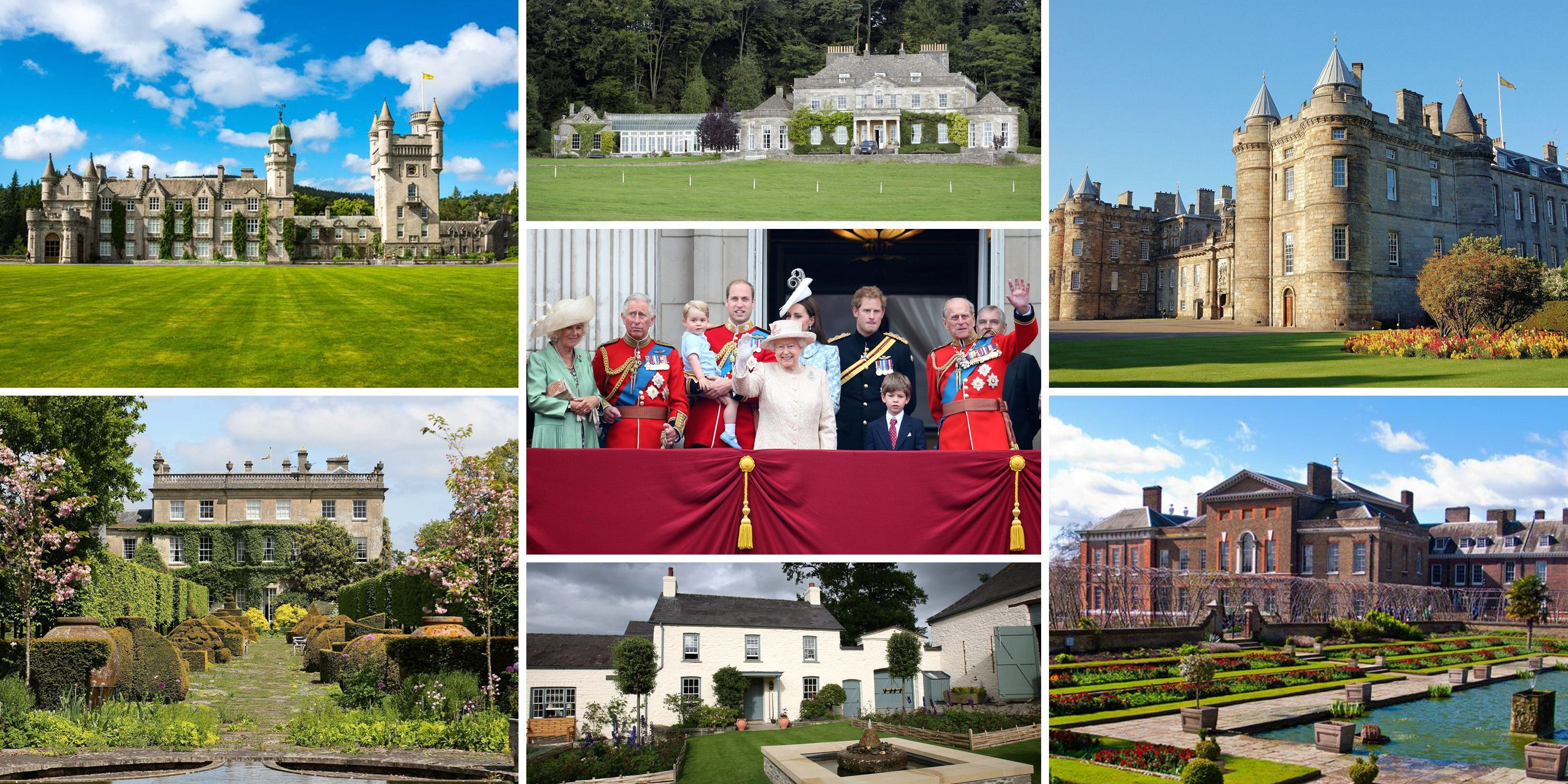 Every Royal Residence Across the UK - All Royal Family Homes