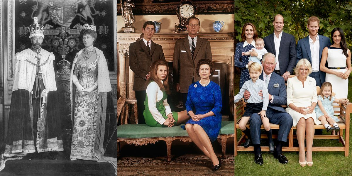 Portraits That Show How Much the Royals Have Changed Through the Years