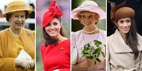 8f2dcb8aa386c 70 Best Royal Hats in History - Most Memorable Royal Family Fascinators