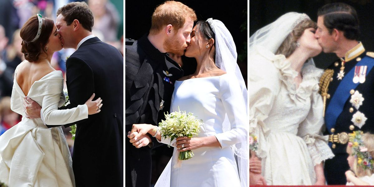 Royal Wedding Kisses Throughout The Years Best Royal