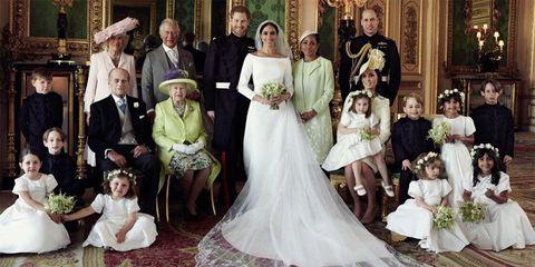 Gown, Wedding dress, Bride, Photograph, Dress, Bridal clothing, Child, Bridal party dress, Ceremony, Event,