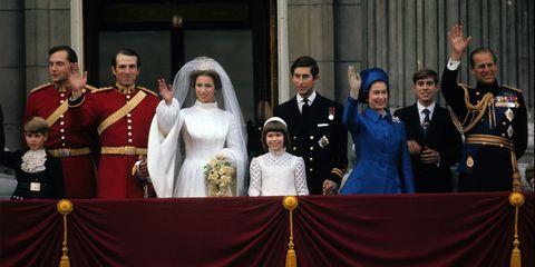 エリザベス 女王 アン王女 イギリス ロイヤルファミリー
