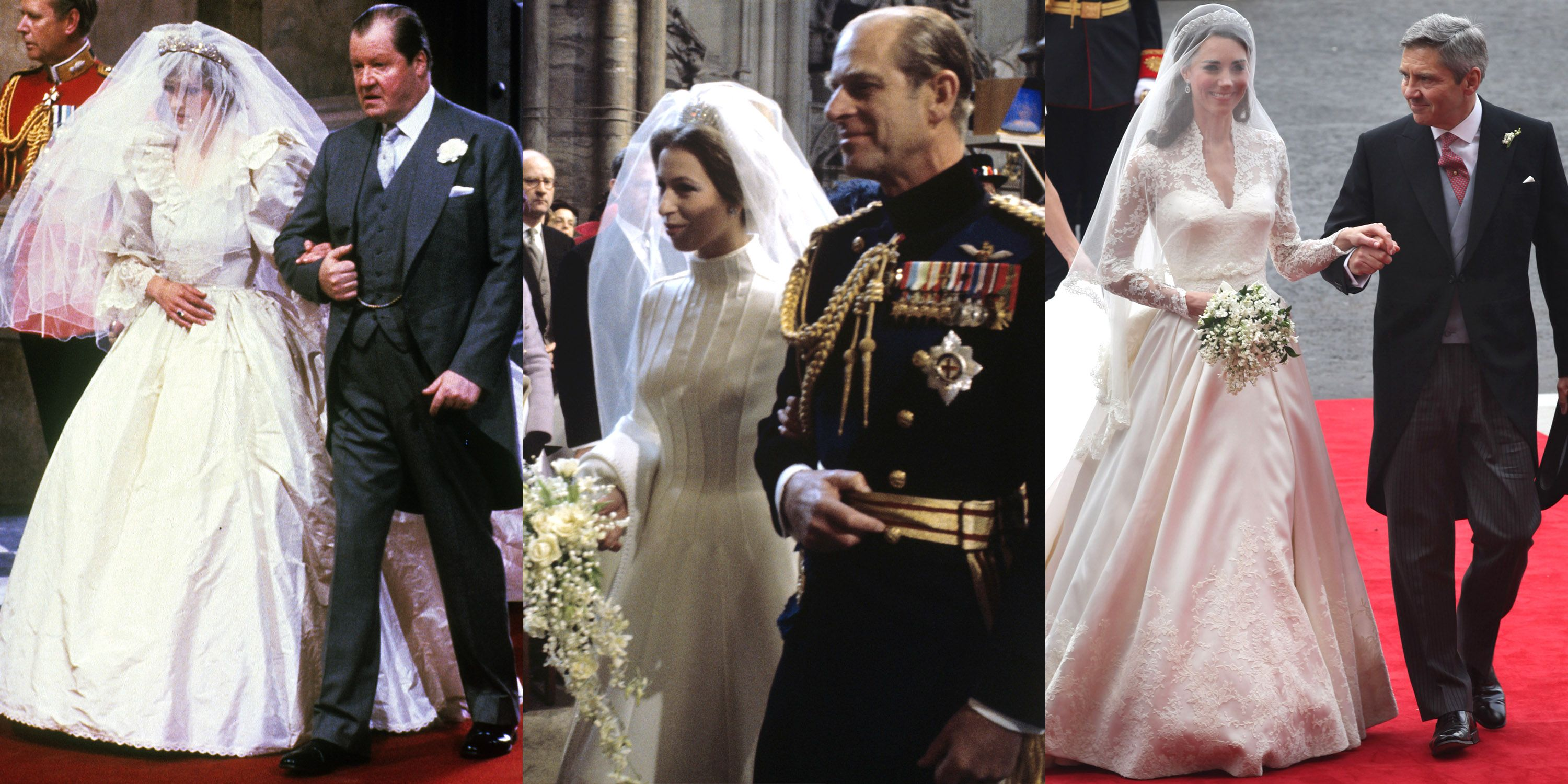 Who Walked Kate Middleton And Other Royal Brides Down The Aisle At