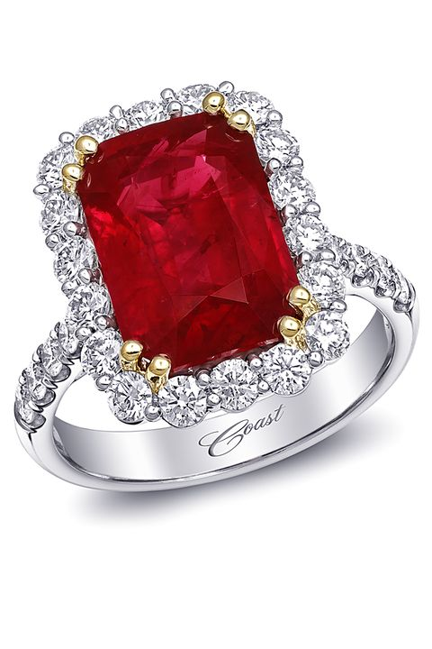 21 Best Ruby Engagement Rings - Top Red Stone Rings for ...