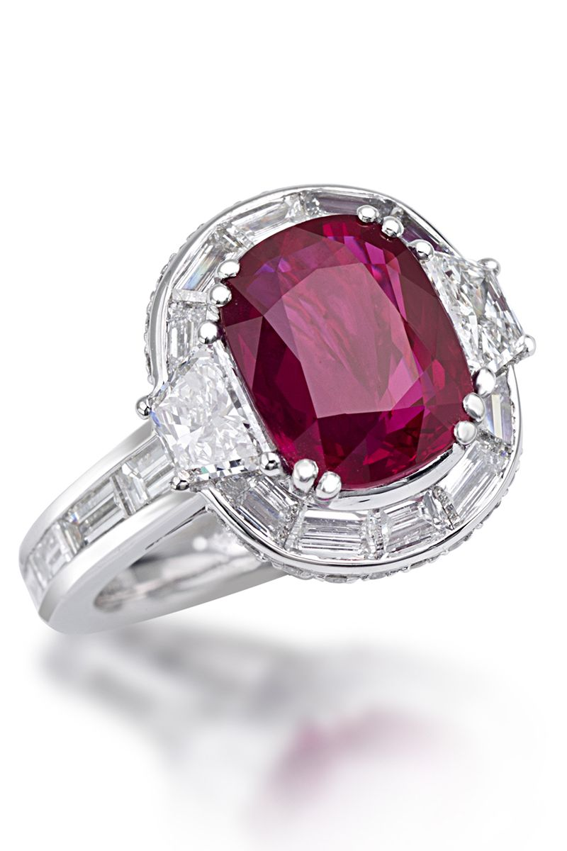 31 Best Ruby Engagement Rings Top Red Stone Rings For Proposals