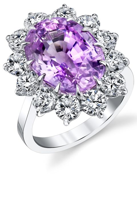 Amethyst, Gemstone, Pre-engagement ring, Jewellery, Fashion accessory, Engagement ring, Ring, Purple, Diamond, Violet,