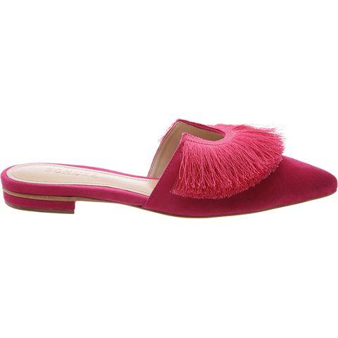 Footwear, Pink, Slipper, Shoe, Magenta, Sandal,