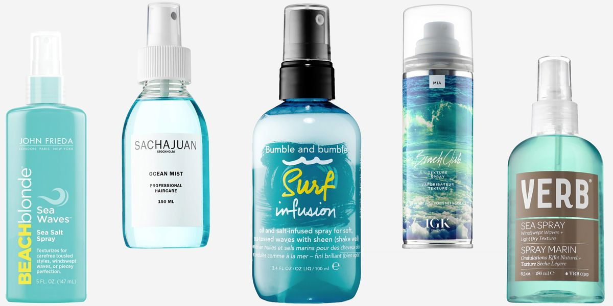 Best Salt Spray For Hair Best Styling Products For