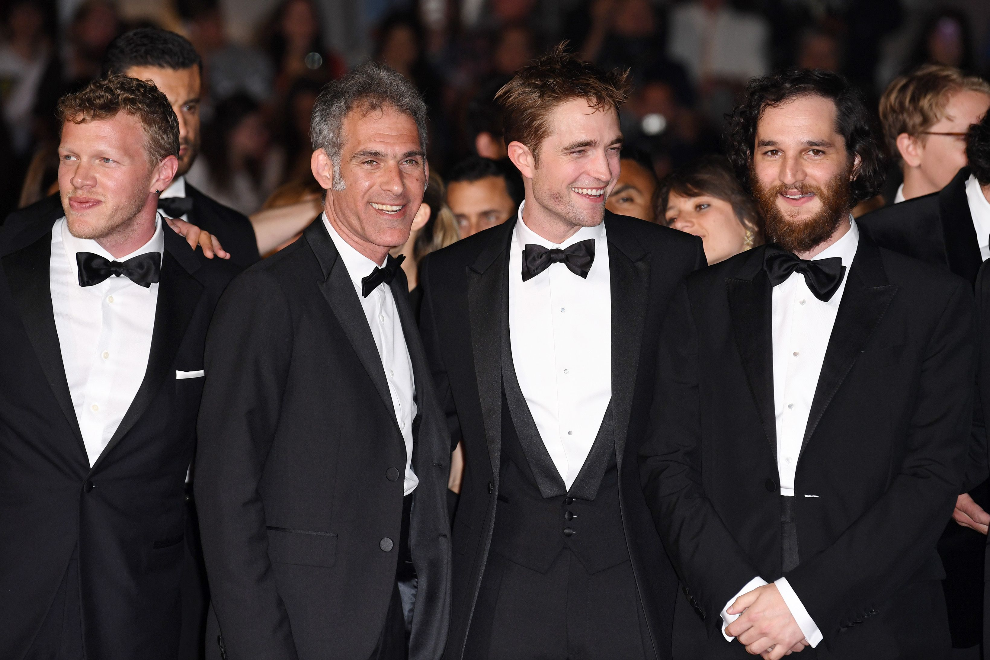 Sebastian Bear Ronnie Bronstein Robert Pattinson And Joshua Safat The Good Time Premiere At The Cannes Film Festival In