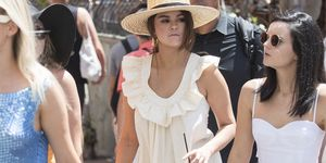 Selena Gomez enjoys a day out in Capri while out on vacation