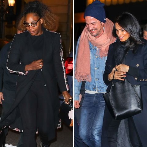 Meghan Markle and Serena Williams Reunite for Dinner in NYC