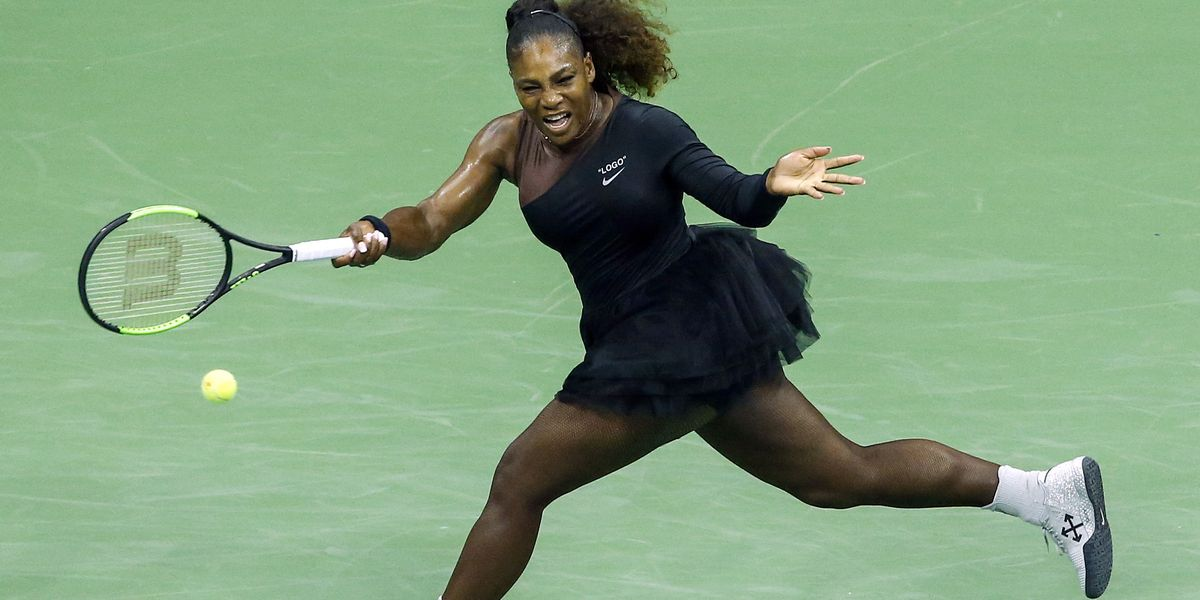 Serena Williams Won Her US Open Match in an Off-White x Nike Tutu