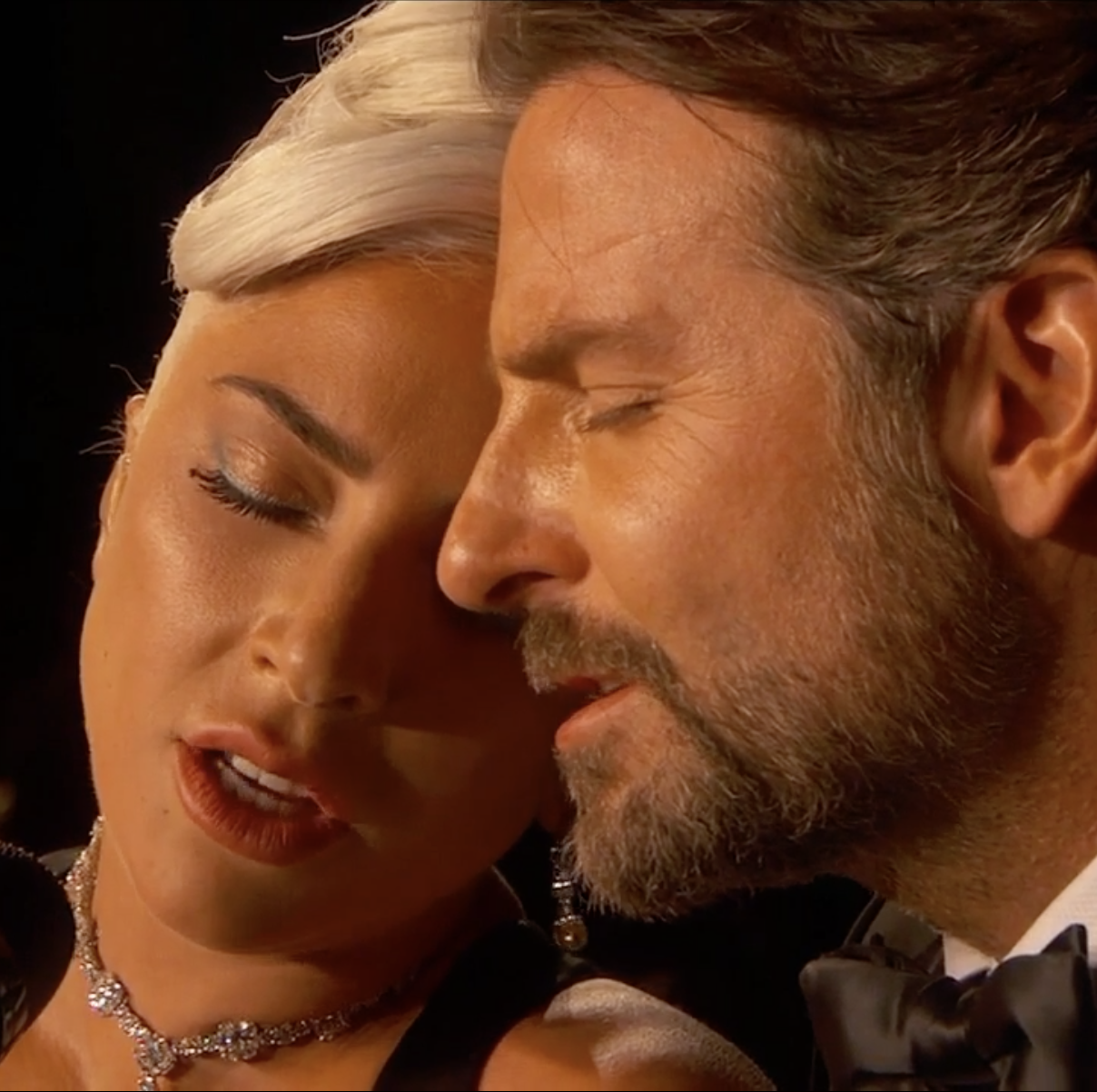Lady Gaga and Bradley Cooper Gave the Most Intimate Performance the Oscars Has Ever Seen