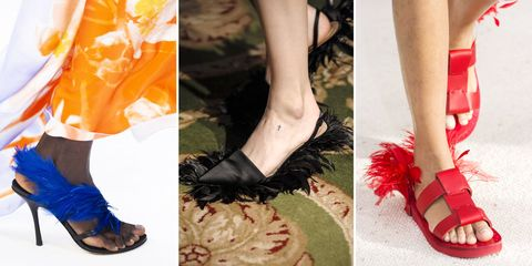 eddc3402b Best Spring 2019 Runway Shoes - Spring 2019 Shoe Trends at Fashion Week