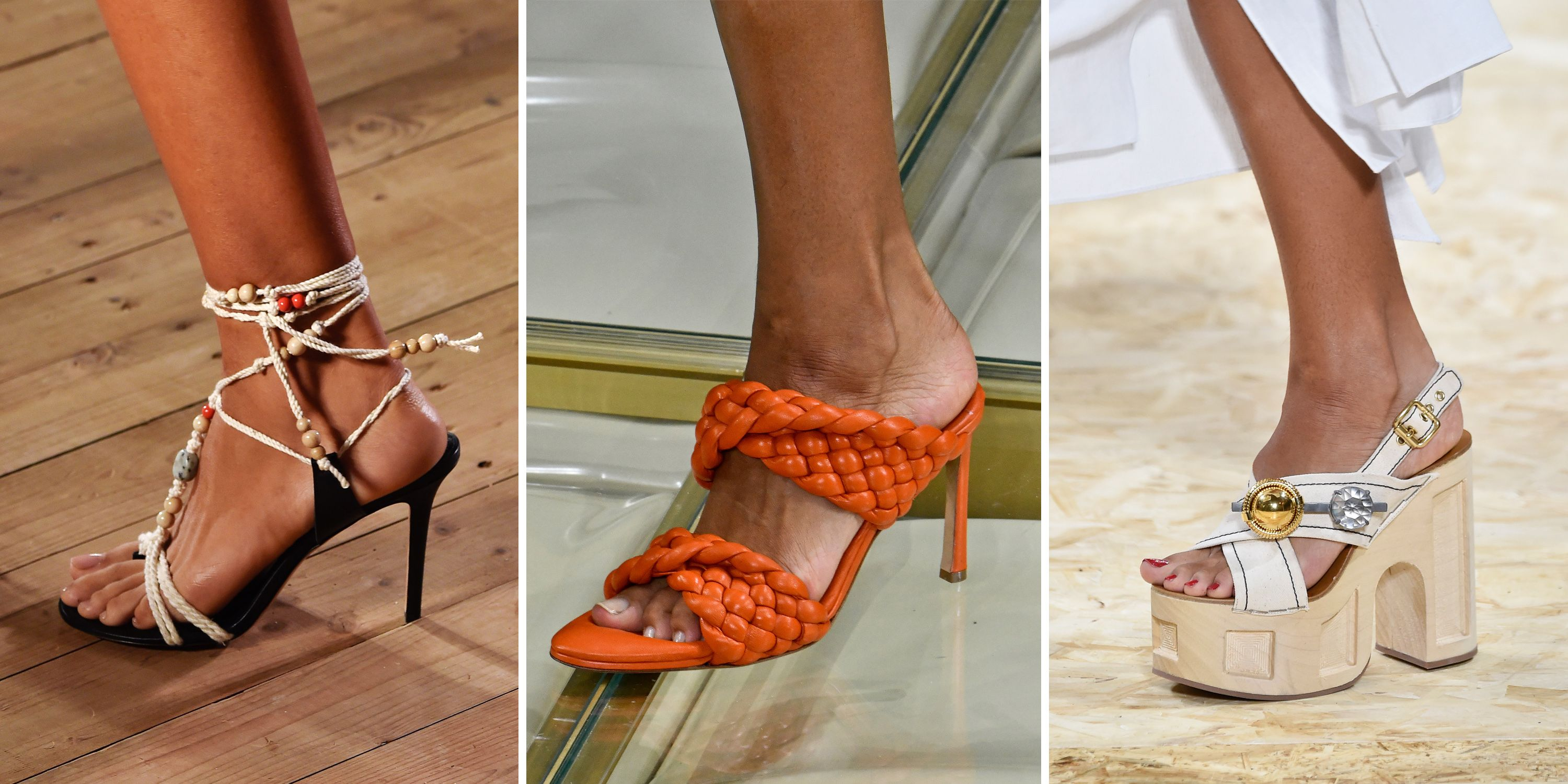 The Runway Shoes That Will Define Spring 2020's Top Footwear Trends