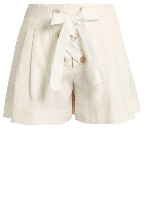 Clothing, White, Shorts, Bermuda shorts, Beige, Trunks,