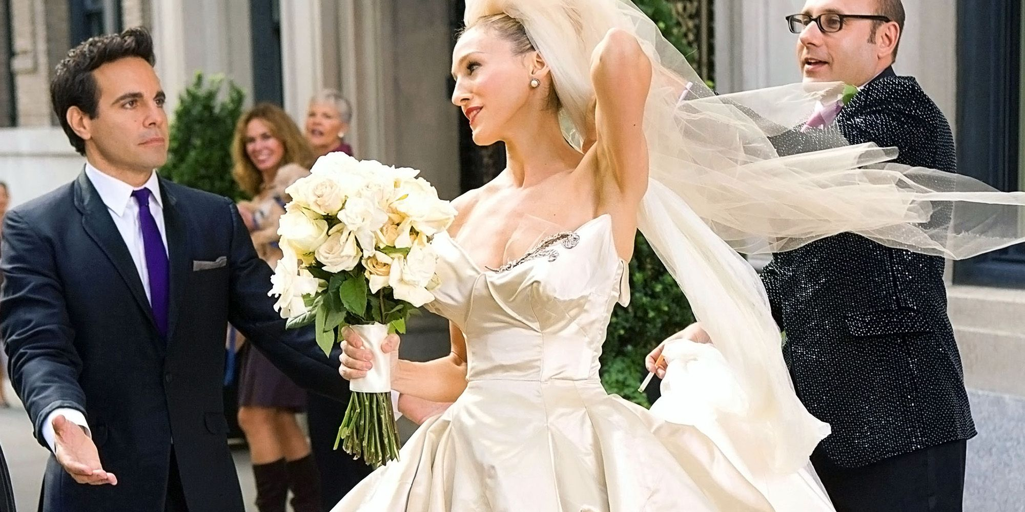 The Most Iconic Wedding Gowns In History - Harper's BAZAAR 14